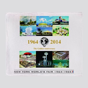 50th Anniversary Pavilions Throw Blanket