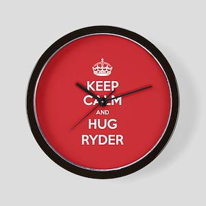 Hug Ryder Wall Clock