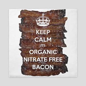 Keep Calm Organic Bacon Queen Duvet