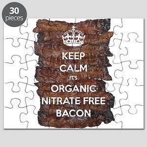 Keep Calm Organic Bacon Puzzle