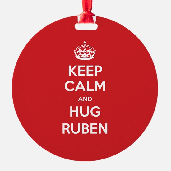 Hug Ruben Ornament