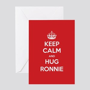 Hug Ronnie Greeting Cards