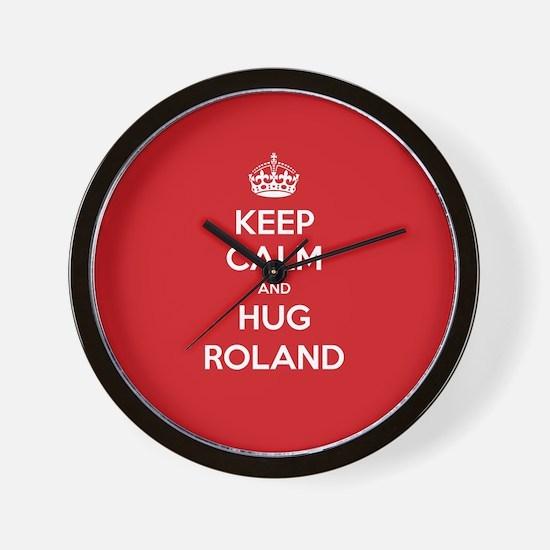 Hug Roland Wall Clock