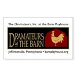 Dramateurs Rectangle Sticker