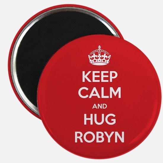 Hug Robyn Magnets