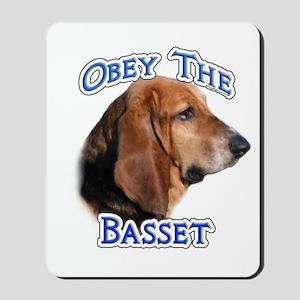 Basset Obey Mousepad