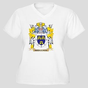 Bridgeman Coat of Arms - Family Plus Size T-Shirt