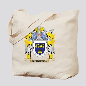 Bridgeman Coat of Arms - Family Crest Tote Bag