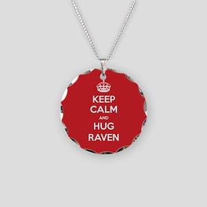 Hug Raven Necklace