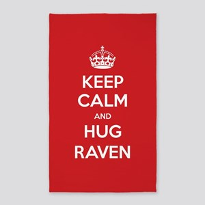 Hug Raven 3'x5' Area Rug