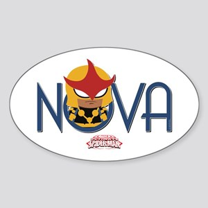 Nova Mini Sticker (Oval)