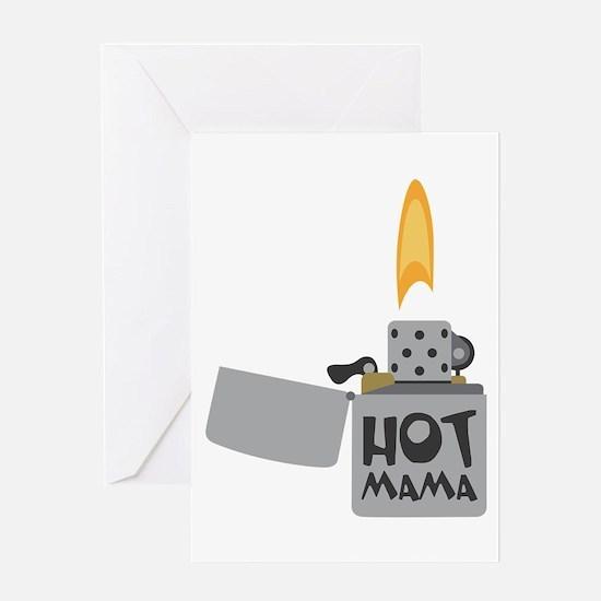 Hot Mama Greeting Cards
