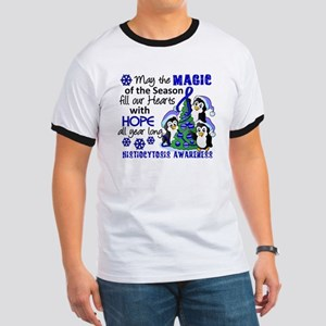 Histiocytosis Christmas Penguins Ringer T