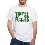 Tribal Forces Logo White T-Shirt