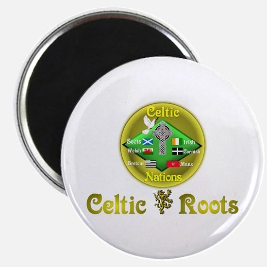 """Celtic Roots.:-) 2.25"""" Magnet (10 pack)"""