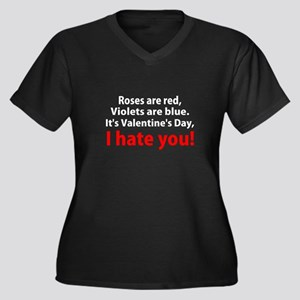 Roses are Red Plus Size T-Shirt
