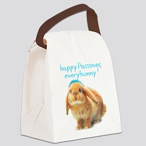 happy-Passover Canvas Lunch Bag