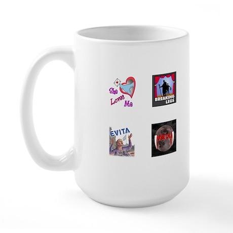 Dramateurs Large Mug