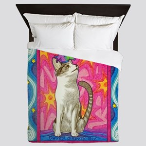 Jester Kitty Queen Duvet