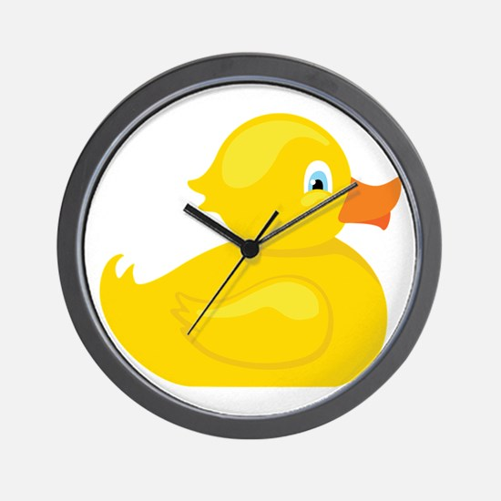 Squeaky Duck Wall Clock