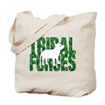 Tf Logo/cub 2-Sided Tote Bag