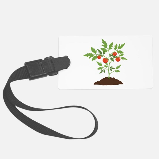 Tomato Plant Luggage Tag