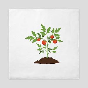 Tomato Plant Queen Duvet