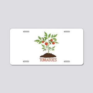 TOMATOES Aluminum License Plate