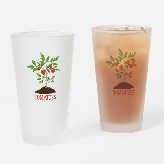 TOMATOES Drinking Glass
