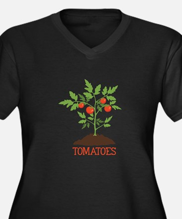 TOMATOES Plus Size T-Shirt