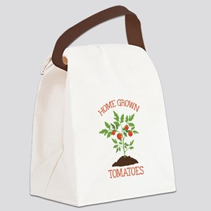 HOME GROWN TOMATOES Canvas Lunch Bag