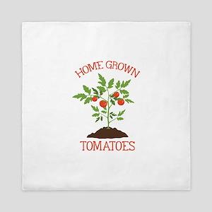 HOME GROWN TOMATOES Queen Duvet