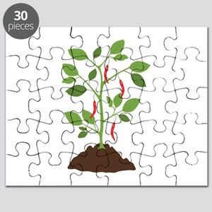 Red Pepper Plant Puzzle