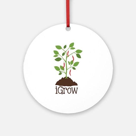 iGrow Ornament (Round)