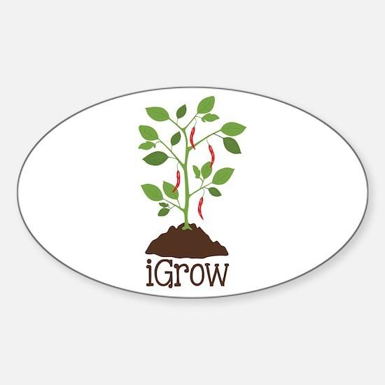 iGrow Decal