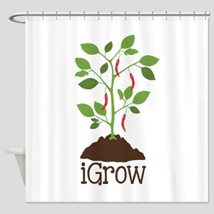 iGrow Shower Curtain