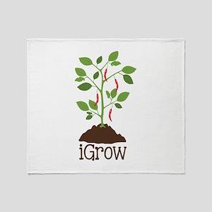 iGrow Throw Blanket