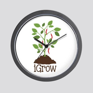 iGrow Wall Clock