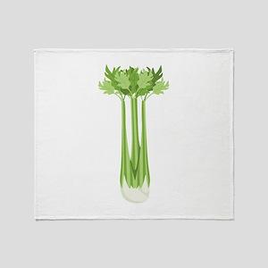 Celery Stalk Throw Blanket
