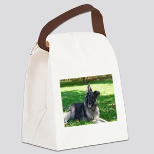 Kimber smiling pretty Canvas Lunch Bag