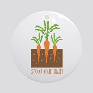 Grow Your Own Ornament (Round)