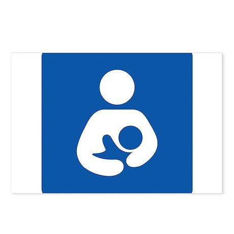 Universal Breastfeeding Symbol Postcards (Package