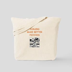 curler Tote Bag