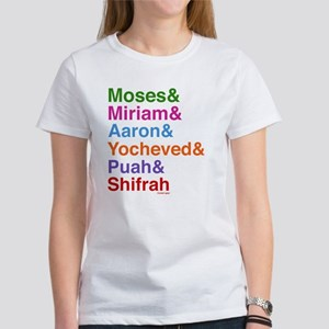 Passover Heroes Names Women's T-Shirt