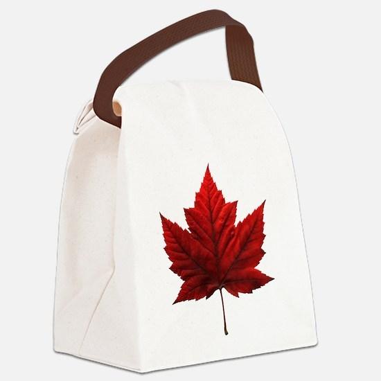Canada Souvenir Canvas Lunch Bag