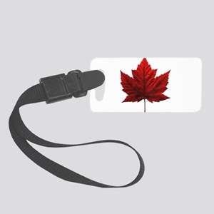 Canada Maple Leaf Souvenir Small Luggage Tag