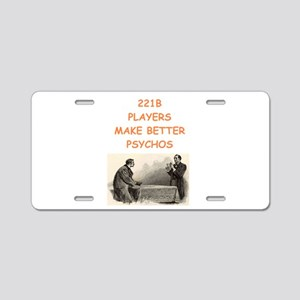221b baker street Aluminum License Plate