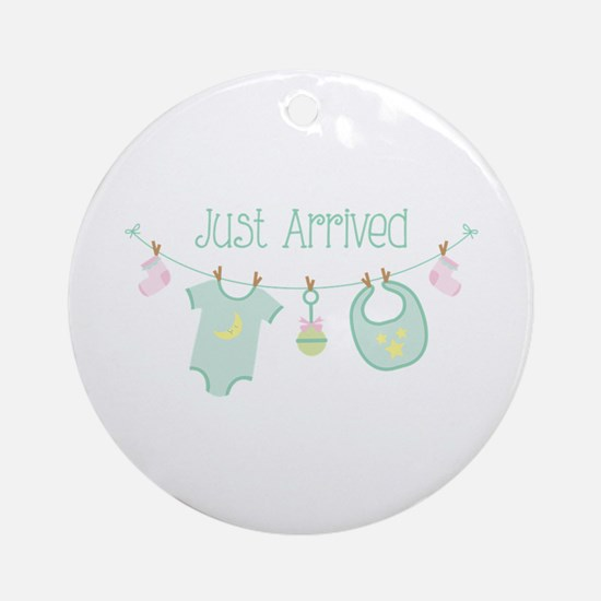 Just Arrived Ornament (Round)