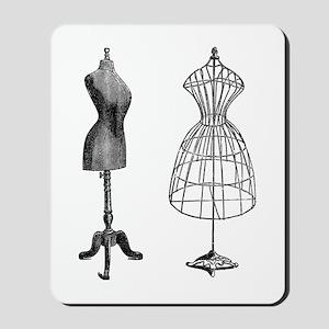 Vintage Mannequin Mousepad
