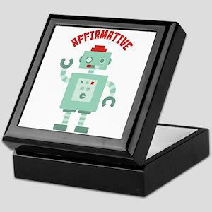 AFFIRMATIVE Keepsake Box